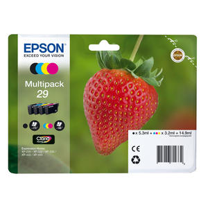 EPSON serie 29 fragola T2986 multipack 4 colori cartucce di inchiostro originale - MediaWorld.it