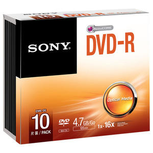 SONY DVD-R 4.7 16X 10PZ - MediaWorld.it