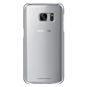 SAMSUNG Cover Clear per Samsung Galaxy S7 Argento - MediaWorld.it