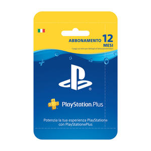 SONY Playstation Plus 12 mesi - MediaWorld.it