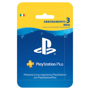 SONY PlayStation Plus 3 mesi - MediaWorld.it