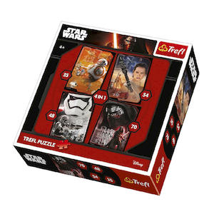 STAR WARS Puzzle 4 In 1 - MediaWorld.it