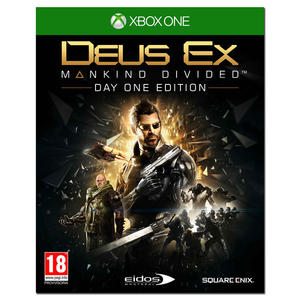 Deus Ex: Mankind Divided Day One Edition - XBOX ONE - PRMG GRADING KNBN - SCONTO 22,50% - MediaWorld.it