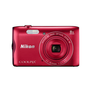NIKON Coolpix A300 Red - MediaWorld.it