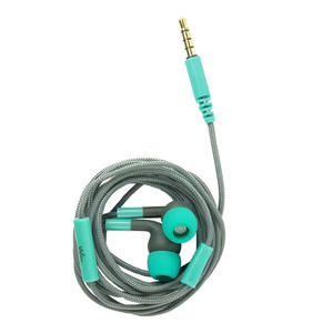 WIKO EARPHONE GREY/BLEEN JACK 3 5