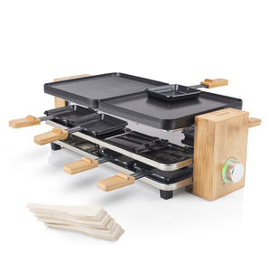 PRINCESS Raclette Pure 8 Bambù - MediaWorld.it