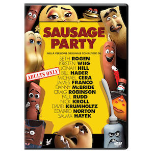 UNIVERSAL PICTURES SAUSAGE PARTY DVD - MediaWorld.it