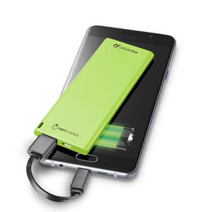 CELLULAR LINE Power bank Verde 3000 Mah - MediaWorld.it