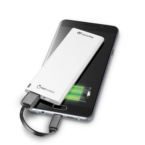 Cellular line Power bank Bianco 3000 Mah - MediaWorld.it