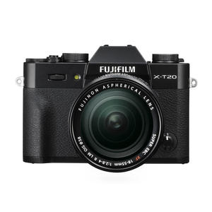 FUJIFILM X-T20 +XF18-55MM BLACK - MediaWorld.it
