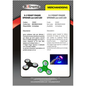 XTREME X-2 Finger Spinner - PRMG GRADING ONBN - SCONTO 15,00% - MediaWorld.it