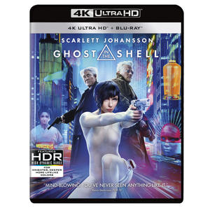 Ghost in the Shell - Blu-Ray  UHD - MediaWorld.it