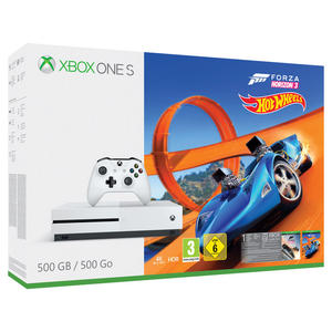 MICROSOFT Xbox One S 500GB + DLC Forza Horizon 3 + DLC Hot Wheels - MediaWorld.it