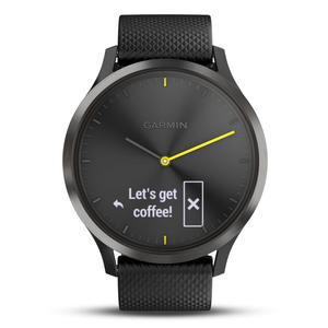 GARMIN Vivomove HR Sport, Nero con cinturino in silicone nero - MediaWorld.it