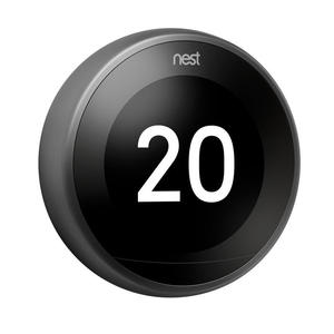 NEST Learning Thermostat Black