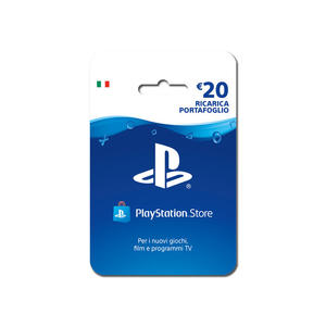 SONY PlayStation Live Cards Hang 20 Euro - MediaWorld.it