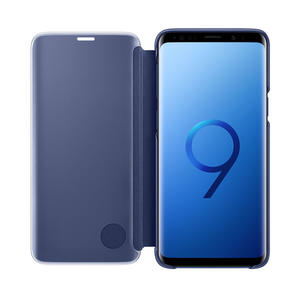 SAMSUNG Galaxy S9 Clear View Standing Cover Blu - PRMG GRADING KNBN - SCONTO 22,50% - MediaWorld.it