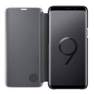 SAMSUNG Clear View Standing Cover for Galaxy S9+ Black - MediaWorld.it