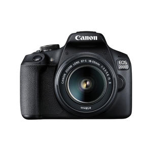 CANON EOS 2000D 18-55 IS BLACK - MediaWorld.it