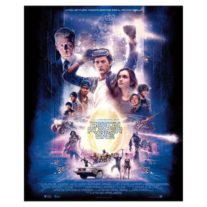 WARNER BROS POSTER READY PLAYER ONE - MediaWorld.it