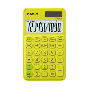 CASIO SL310UC Giallo - MediaWorld.it