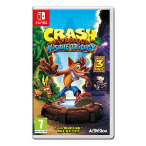 Crash Bandicoot N. Sane Trilogy - NSW - MediaWorld.it