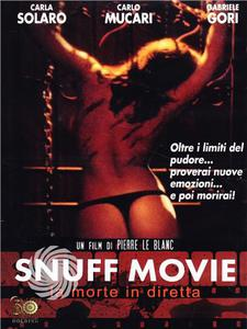 SNUFF MOVIE - LA MORTE IN DIRETTA - DVD - MediaWorld.it