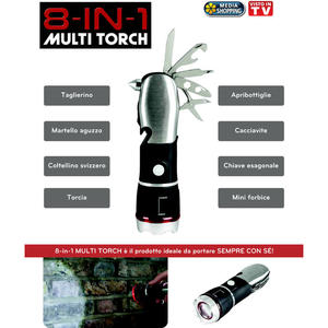 MEDIASHOPPING 8-in-1 Multi Torch - MediaWorld.it