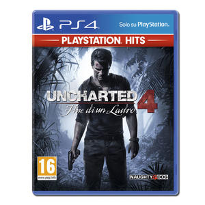 Uncharted 4 - Fine di un Ladro (PS Hits) - PS4 - MediaWorld.it
