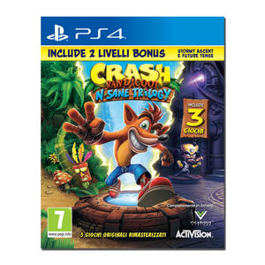 Crash Bandicoot N.Sane Trilogy + 2 Livelli Bonus - PS4 - MediaWorld.it