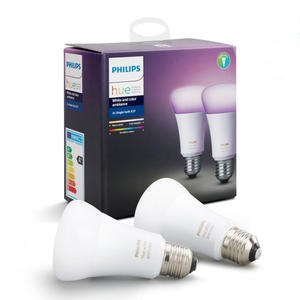 PHILIPS Hue White & Color Ambiance 2X E27 10W - MediaWorld.it