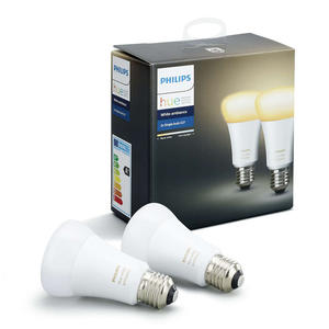 PHILIPS HUE WHITE AMBIANCE 2 X E 27 9.5 W - MediaWorld.it
