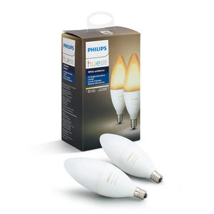 PHILIPS HUE WHITE AMBIANCE 2 X E 14 6 W - MediaWorld.it