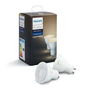 PHILIPS HUE WHITE AMBIANCE 2 X GU10 5.5 W - MediaWorld.it