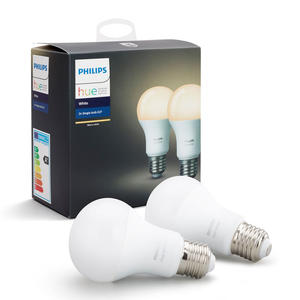 PHILIPS HUE WHITE 2 X LAMPADINE E27 9.5 W - MediaWorld.it