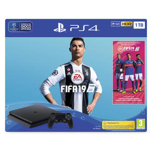 SONY PS4 1TB + FIFA 19 Chassis F - MediaWorld.it