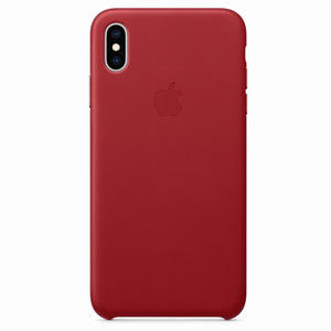 APPLE Cover pelle Iphone Xs Max (PRODUCT) RED - MediaWorld.it
