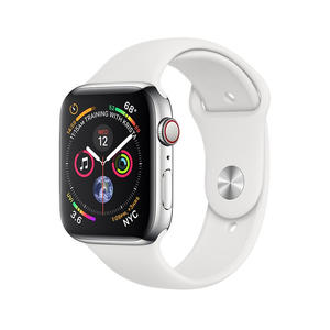 APPLE WATCH Serie 4 Cellular 44mm Acciaio - Sport Bianco - MediaWorld.it