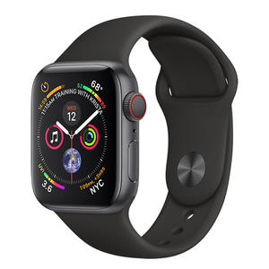 APPLE Watch Series 4 Cellular 40mm Alluminio Grigio Siderale - Sport Nero - MediaWorld.it