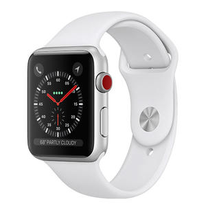 APPLE Watch Series 3 GPS+Cellular 42mm in alluminio color argento - Sport bianco - MediaWorld.it