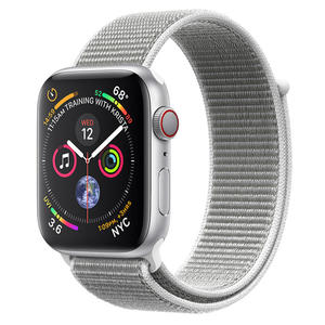 APPLE WATCH Serie 4 Cellular 44mm Alluminio Argento - Sport Loop Conchiglia - MediaWorld.it