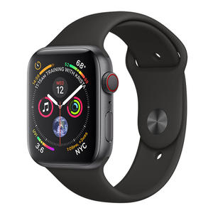 APPLE Watch Series 4 GPS + Cellular, 44 mm Alluminio Color Grigio Siderale e Cinturino Sport Nero - MediaWorld.it