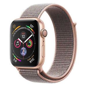 APPLE WATCH Serie 4 Cellular 44mm Alluminio Oro - Sport Loop Rosa Sabbia - MediaWorld.it