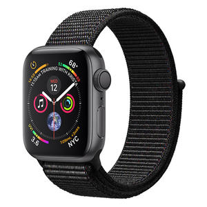 APPLE Watch Series 4 GPS 40mm in alluminio grigio siderale - Sport Loop Nero - MediaWorld.it