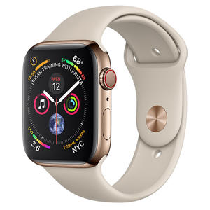 APPLE WATCH Serie 4 Cellular 44mm Acciaio Oro - Sport Grigio Pietra - MediaWorld.it