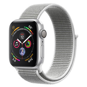 APPLE Watch Series 4 GPS, 40mm Alluminio Argento - Sport Loop Conchiglia - MediaWorld.it