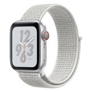 APPLE WATCH Nike+ Series 4 GPS+Cellular 40 mm color argento - Nike Sport Loop bianco ghiaccio - MediaWorld.it