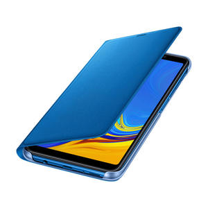 SAMSUNG WALLET COVER A7 BLUE - MediaWorld.it