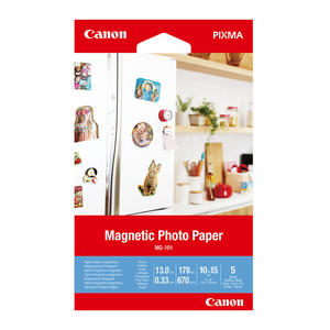 CANON CARTA PHOTO MAGNETIC MG-101 4X6 5FG - MediaWorld.it