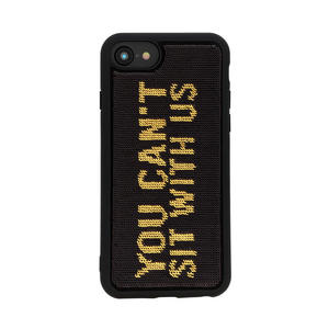 """Benjamins Paillettes """"You can't sit with us"""" per iPhone 6,7,8 - MediaWorld.it"""